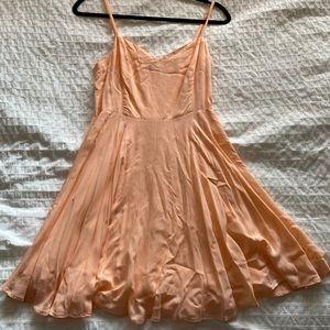 Aritzia Pink Skater Dress